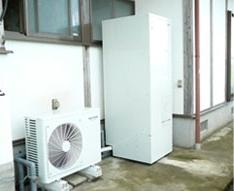 電気給湯器(エコキュート)設置例後